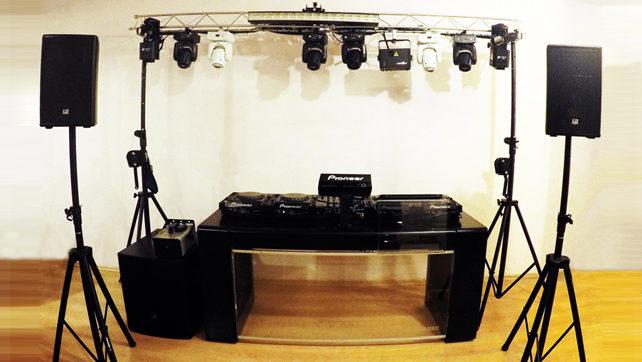 DJ-re, Hangosításra, Fénytechnikára van szüksége?